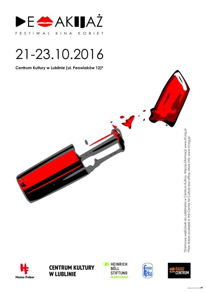Plakat Demakijaż 2016